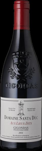 Santa Duc Gigondas Aux Lieux-Dits 2016