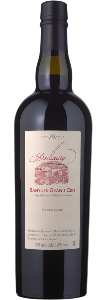 Abbé Rous Banyuls Vintage Grand Cru Baillaury