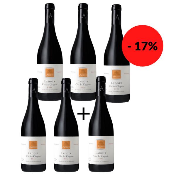 5 + 1 Flasche gratis - Ladoix Villages Clos des Chagnots Monopole 2014