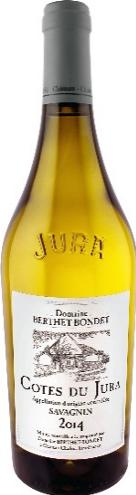 Domaine Berthet-Bondet Côtes du Jura Savagnin 2016