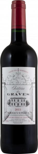 Château des Graves Bordeaux Superieur Rouge 2015