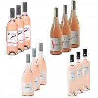 12er Probierpaket - 4 x 3 frisch-fruchtige Rosé 2017