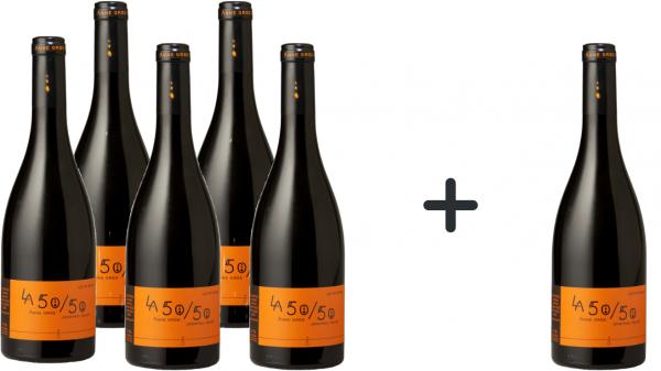 5 + 1 Flasche gratis - Anne Gros & Jean-Paul Tollot LA 50/50 2015