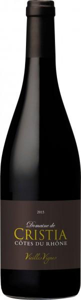 Cristia Côtes-du-Rhône Vieilles Vignes 2015
