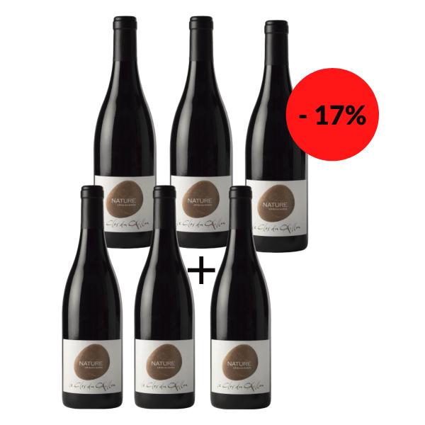 5+1 Flasche gratis! Clos du Caillou Côtes du Rhône Le Nature 2018