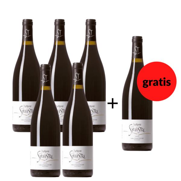 5 + 1 Flasche gratis - Saint Sylvestre Languedoc 2017