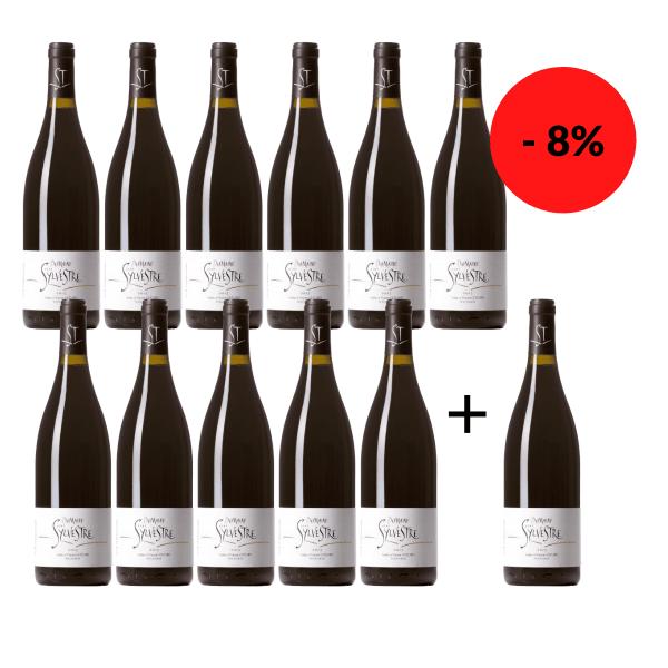 11 + 1 Flasche gratis - Saint Sylvestre Languedoc 2017