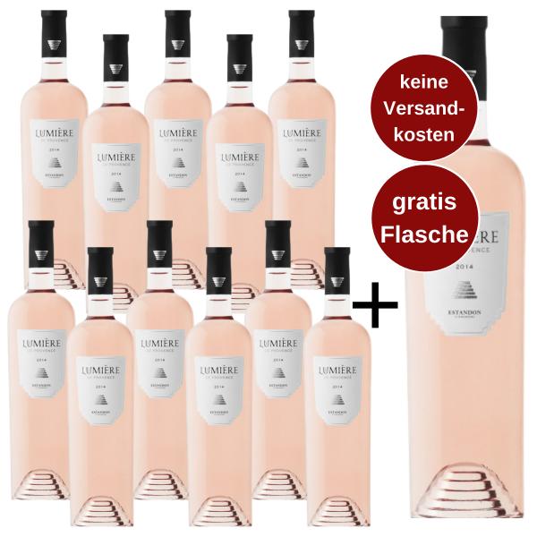 Lumière de Provence Rosé 2020 - Sparpaket 11+1 gratis