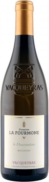 Domaine la Fourmone Vacqueyras le Fleurantine blanc 2017