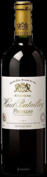 Château Haut-Batailley Pauillac AOC 2015
