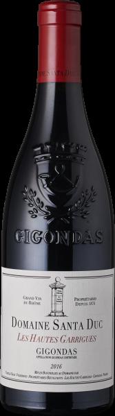 Santa Duc Gigondas Les Hautes Garrigues 2016