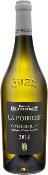 Domaine Berthet-Bondet Côtes du Jura La Poirière 2018