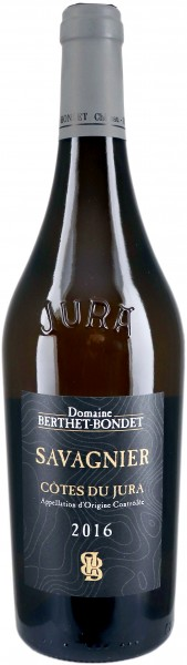 Domaine Berthet-Bondet Savagnier Côtes de Jura 2016