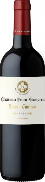 Château Franc Gueyrot Saint Emillion AOC 2016