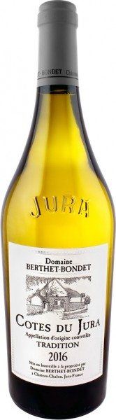 Domaine Berthet-Bondet Côtes du Jura Tradition 2016