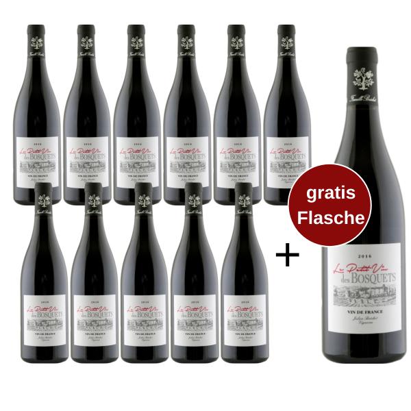 Le Petit Vin des Bosquets 2019 - Sparpaket 11+1 gratis