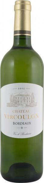 Château Vircoulon AOC Bordeaux blanc 2015